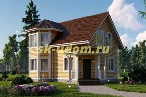 Дачный дом. Проект ДКД-10