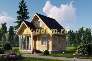Дачный дом. Проект ДКД-24
