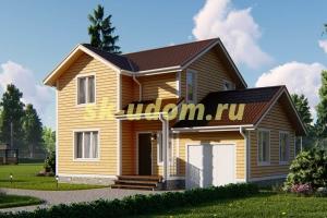 Дачный дом. Проект ДКД-3