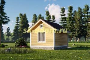Дачный дом. Проект ДКД-8