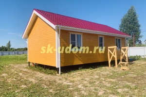 Строительство каркасного дома в деревне Афанасьево Александровского района Владимирской области