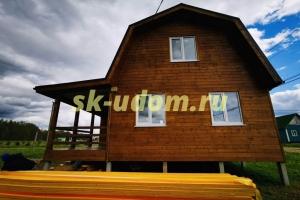 Строительство каркасного дома для постоянного проживания в посёлке Арсаки Александровского района Владимирской области