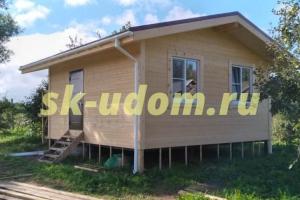 Строительство каркасного дома в с. Большелучинское Юрьев-Польского района Владимирской области