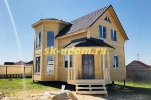 Строительство каркасного дома. Раменский район. Московская область