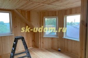 Строительство каркасного дома в д. Чеково Юрьев-Польского района Владимирской области