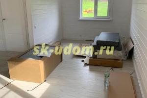 Строительство каркасного дома в городе Щёлково Московской области