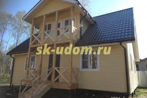 Строительство каркасного дома в д. Дашковка Ногинского района Московской области