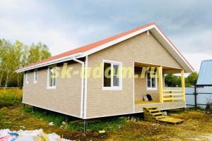 Строительство каркасного дома в д. Федотово Гусь-Хрустального района Владимирской области