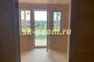 Строительство каркасного дома в деревне Финеево Киржачского района Владимирской области