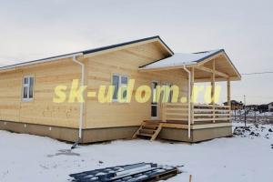 Строительство каркасного дома в деревне Юдино городского округа Мытищи Московской области