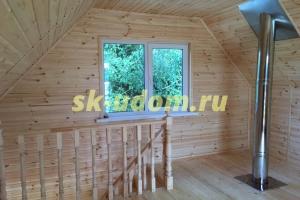 Строительство дома-бани в д. Головино Петушинского района Владимирской области