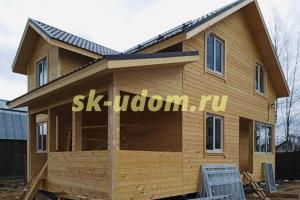 Строительство каркасного дома для постоянного проживания в СНТ Киржач-1 Петушинского района Владимирской области