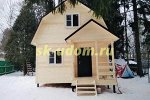 Строительство каркасного дома в г. Клин Московской области