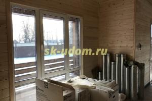 Строительство каркасного дома в г. Кольчугино