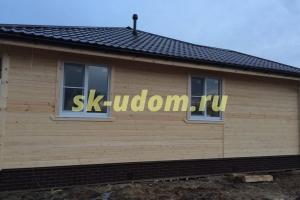 Строительство каркасного дома в городе Коломна Московской области