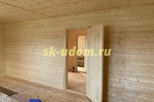 Строительство каркасного дома в деревне Костюнино Щёлковского района Московской области
