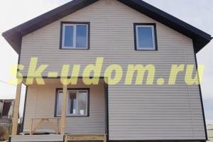 Строительство каркасного дома для постоянного проживания в деревне Красное Сущёво Суздальского района Владимирской области