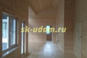 Строительство каркасного дома в д. Красновидово Можайского района Московской области