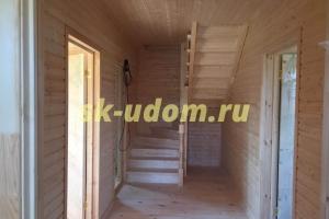 Строительство каркасного дома в СНТ Купол 2009 Щёлковского района Московской области
