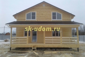 Строительство каркасного дома в городе Куровское