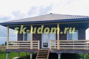 Строительство каркасного дома по индивидуальному проекту в д. Легково Владимирской области