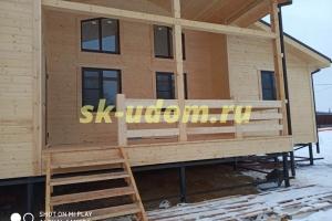 Строительство каркасного дома для постоянного проживания в деревне Мансурово городского округа Домодедово Московской области
