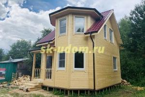 Строительство каркасного дома в деревне Мелехино Александровского района Владимирской области