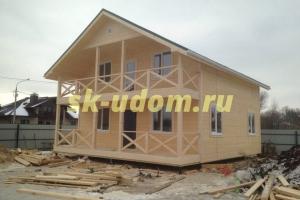 Строительство каркасного дома для постоянного проживания. Московская область