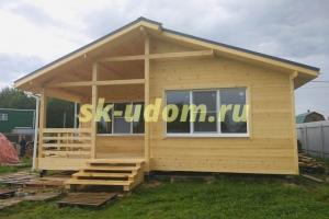 Строительство каркасного дома в СНТ Награда Красногорского района Московской области