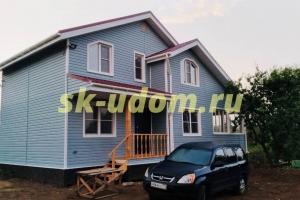 Строительство каркасного дома в Нарофоминском районе Московской области