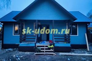Строительство каркасного дома в СНТ Наука-1 Ногинского района Московской области