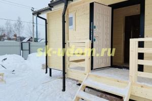 Строительство каркасного дома в д. Назимиха Щёлковского района Московской области