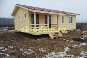 Строительство каркасного дома для постоянного проживания в деревне Недельное Малоярославского района Калужской области