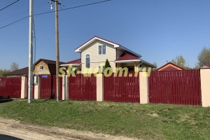 Строительство каркасного дома в деревне Новочеркасское Воскресенского района Московской области