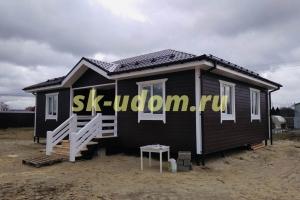 Строительство каркасного дома для постоянного проживания в городе Орехово-Зуево Московской области