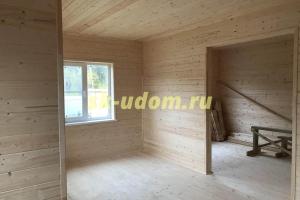 Строительство каркасного дома в Пушкинском районе Московской области