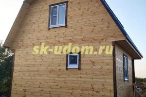 Строительство каркасного дома в д. Петряево Навашинского района Нижегородское области