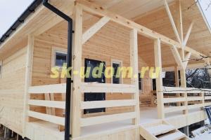 Строительство каркасного дома для постоянного проживания в деревне Пирогово городского округа Мытищи Московской области