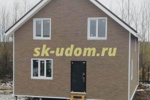 Строительство каркасного дома в селе Порецкое Суздальского района Владимирской области