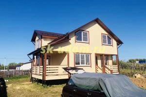 Строительство каркасного дома для постоянного проживания в посёлке Садовый