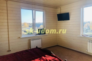 Строительство каркасного дома для круглогодичного проживания в деревне Серп и Молот Кольчугинского района Владимирской области