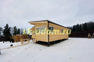 Строительство каркасного дома для постоянного проживания в деревне Серп и Молот Кольчугинского района Владимирской области