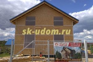 Строительство каркасного дома в городе Серпухов Московской области