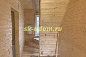 Строительство каркасного дома в дачном посёлке Северный Берег Пушкинского района Московской области