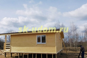 Строительство каркасного дома для постоянного проживания в городе Щёлково Московской области