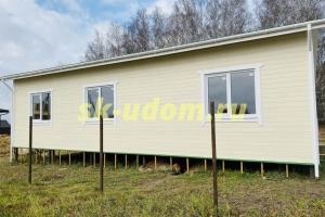Строительство каркасного дома на две семьи в деревне Скрылья Серпуховского района Московской области