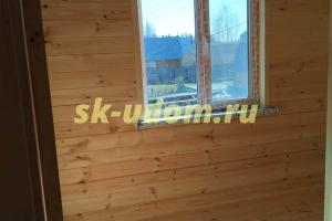 Строительство каркасного дома для постоянного проживания в городе Солнечногорск Московской области