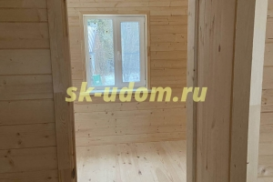 Строительство каркасного дома в СНТ Сосновый бор Суздальского района Владимирской области