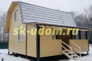 Строительство каркасного дома для постоянного проживания в деревне Старое Перепечино Петушинского района Владимирской области