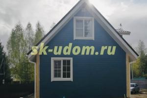 Строительство каркасного дома для постоянного проживания в деревне Стулово Ногинского района Московской области